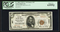 National Bank Notes:Pennsylvania, Selins Grove, PA - $5 1929 Ty. 2 The First NB Ch. # 357. ...