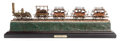 Other:American, AN ELECTRIFIED MODEL OF THE DEWITT CLINTON LOCOMOTIVE IN APRESENTATION CASE. Early 20th century. 12-1/2 x 38 x 9-3/4inches...