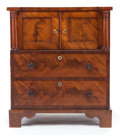 Furniture , A CONTINENTAL MAHOGANY CUPBOARD. 19th century. 29 x 25 x 18-3/4 inches (73.7 x 63.5 x 47.6 cm). PROPERTY FROM A PRIVATE TE...