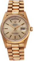 Golf Collectibles:Miscellaneous, Gold Rolex Wristwatch Presented to Jack Nicklaus for 1980 US Open Victory....