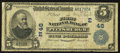 National Bank Notes:Pennsylvania, Pittsburgh, PA - $5 1902 Date Back Fr. 590 The First NB Ch. # (E)48. ...