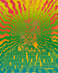 Music Memorabilia:Posters, Shiva's Headband/Lost and Found Vulcan Gas Company Concert PosterVG-11 (1968)....