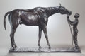 Fine Art - Sculpture, American:Modern (1900 - 1949), CHARLES CARY RUMSEY (American, 1879-1922). Good and Plenty,1907. Bronze with brown patina. 13-1/4 inches (33.7 cm) high...