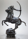Miscellaneous, CHARLES CARY RUMSEY (American, 1879-1922). Study for aCentaur, circa 1914. Bronze with brown patina. 18-1/2 inches(47....
