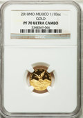 Mexico, Mexico: Estados Unidos gold Proof 1/10 Onza 2010-Mo,...