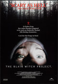 "Movie Posters:Horror, The Blair Witch Project (Artisan, 1999). Canadian One Sheet (27"" X 40""). Horror.. ..."