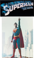 Memorabilia:Movie-Related, Superman the Movie Poster Group (1978).... (Total: 2 Items)