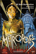 """Movie Posters:Science Fiction, Metropolis (Kino, R-2002). One Sheet (27"""" X 40"""") DS. ScienceFiction.. ..."""