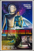 """Movie Posters:Science Fiction, The Day the Earth Stood Still (20th Century Fox, R-1994). One Sheet (27"""" X 40""""). Science Fiction.. ..."""
