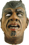 "Movie/TV Memorabilia:Costumes, Lou Costello's Mask from ""Abbott and Costello Meet Frankenstein."" This treasure appears in prominent scenes throughout Unive... (Total: 1 Item)"