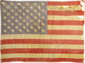 "Movie/TV Memorabilia:Costumes, Peter Fonda's American Flag Patch from His ""Easy Rider"" Jacket. A surprise mega-hit during its 1969 theatrical run, Easy R... (Total: 1 Item)"