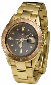 "Peter Fonda's Prototype Gold Rolex Worn In ""Easy Rider."" While sitting on a beach in France and watching the t..."