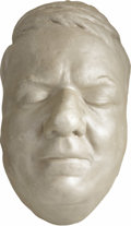 Movie/TV Memorabilia:Memorabilia, W.C. Fields Life Mask. A life mask of the great comedic actor, withsculpted hair, in Excellent condition.... (Total: 1 Item)