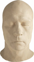 "Movie/TV Memorabilia:Memorabilia, Tommy Lee Jones Life Mask. A life mask of the actor used to designmake-up appliances for his role as ""Two-Face"" in Batman...(Total: 1 Item)"
