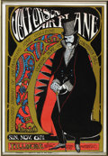 """Music Memorabilia:Posters, Jefferson Airplane """"Edwardian Ball"""" Fillmore Concert Poster (1966).This concert was put on by the Associated Students of S... (Total:1 Item)"""