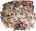 Movie/TV Memorabilia:Memorabilia, Collection of TV Guides from '50s and Early '60s. A collection of60 TV Guides from the 1950s and early 1960s memorializ...(Total: 1 Item)