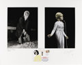 Music Memorabilia:Photos, Dusty Springfield Prints by Ian Wright with First Day Cover. A pair of photographs of Dusty Springfield, one of which has be... (Total: 1 Item)