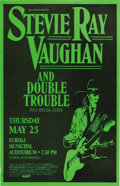 Music Memorabilia:Posters, Stevie Ray Vaughan Concert Poster Group (1989-91). This lot includes a Bill Graham Presents poster for a May 25 Eureka Muni... (Total: 2 Items Item)