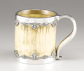 Silver Holloware, American:Tankards, An American Silver and Ivory Tankard. Gorham Manufacturing Co.,Providence, Rhode Island. 1898. Silver, ivory and glass. M...