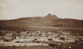 Photography:Cabinet Photos, Large Photograph of Ghost Town Lake Valley, New Mexico Territory,ca. 1880s....