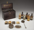 Antiques:Decorative Americana, Painters Stain Repair Kit ca 1890s-1910s....
