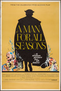 "Movie Posters:Academy Award Winners, A Man For All Seasons (Columbia, 1966). Poster (40"" X 60""). Drama....."
