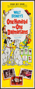 "Movie Posters:Animation, 101 Dalmatians (Buena Vista, 1961). Insert (14"" X 36""). Animation.. ..."