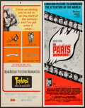 "Movie Posters:War, Is Paris Burning? & Other Lot (Paramount, 1966). Inserts (2)(14"" X 36""). War.. ... (Total: 2 Items)"