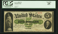 Fr. 1a $5 1861 Demand Note PCGS Very Fine 25