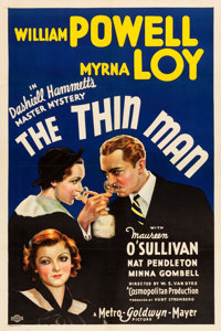 "The Thin Man (MGM, 1934). One Sheet (27"" X 41"") Style C"