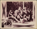 """Movie Posters:Comedy, The Three Stooges in Violent is the Word for Curly (Columbia, 1938). Lobby Card (11"""" X 14"""").. ..."""