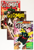 Silver Age (1956-1969):War, G.I. Combat Grey Tone Cover Group (DC, 1959-65) Condition: Average FN/VF.... (Total: 6 Comic Books)