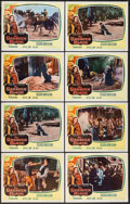 "Movie Posters:Adventure, The Saracen Blade (Columbia, 1954). Lobby Cards (8) (11"" X 14"").Adventure.. ... (Total: 8 Items)"