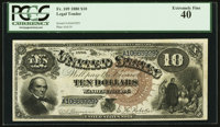 Fr. 109 $10 1880 Legal Tender PCGS Extremely Fine 40