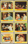 "Movie Posters:Exploitation, The Delinquents (United Artists, 1957). Lobby Card Set of 8 (11"" X14""). Exploitation.. ... (Total: 8 Items)"