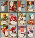Football Cards:Sets, 1953 Bowman Football Near Set (95/96). ...