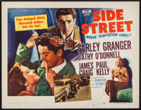 "Side Street (MGM, 1950). Half Sheets (2) (22"" X 28""). A and B Styles. Film Noir. ... (Total: 2 Item)"
