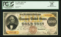Large Size:Gold Certificates, Fr. 1202a $100 1882 Gold Certificate PCGS Apparent Very Fine 35.....