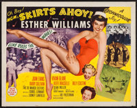 "Skirts Ahoy! (MGM, 1952). Half Sheets (2) (22"" X 28"") Styles A & B. Comedy. ... (Total: 2 Items)"