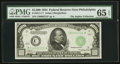 Small Size:Federal Reserve Notes, Fr. 2211-C* $1000 1934 Federal Reserve Note. PMG Gem Uncirculated 65 EPQ.. ...