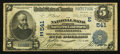 National Bank Notes:Pennsylvania, Philadelphia, PA - $5 1902 Date Back Fr. 590 The NB of NorthernLiberties Ch. # (E)541. ...