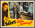"""Movie Posters:Crime, The Saint in Palm Springs (RKO, 1941). Lobby Card (11"""" X 14"""").Crime.. ..."""