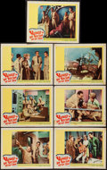 "Movie Posters:Adventure, Voyage to the Bottom of the Sea (20th Century Fox, 1961). LobbyCards (7) (11"" X 14""). Adventure.. ... (Total: 7 Items)"