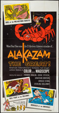 "Movie Posters:Animation, Alakazam the Great (American International, 1961). Three Sheet (41"" X 79""). Animation.. ..."
