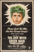 "Movie Posters:Drama, The Boy with Green Hair (RKO, 1948). One Sheet (27"" X 41""). Drama.. ..."