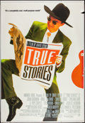 "Movie Posters:Rock and Roll, True Stories (Warner Brothers, 1986). Bus Stop (48"" X 70""). Rockand Roll.. ..."