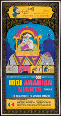 "Movie Posters:Animation, 1001 Arabian Nights (Columbia, 1959). Three Sheet (41"" X 78"").Animation.. ..."