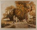 Art:Illustration Art - Mainstream, [Illustration]. Chromolithograph signed by artist. 22.75 x 28.5 inches. Lightly toned. Very good....