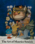 Art:Illustration Art - Mainstream, [Poster]. Maurice Sendak. SIGNED. The Art of Maurice Sendak.Harry N. Abrams. 21 x 26 inches. Signed above title. ...