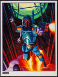 """Movie Posters:Science Fiction, Star Wars: Shadow of the Empire (Lucasfilm, 1997). AutographedPoster (18"""" X 24""""). Science Fiction.. ..."""